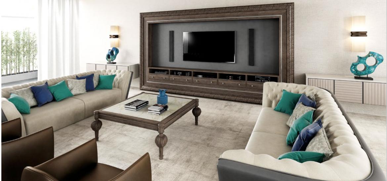 Salón Comedor - David Long - Interiorismo y Muebles de Lujo