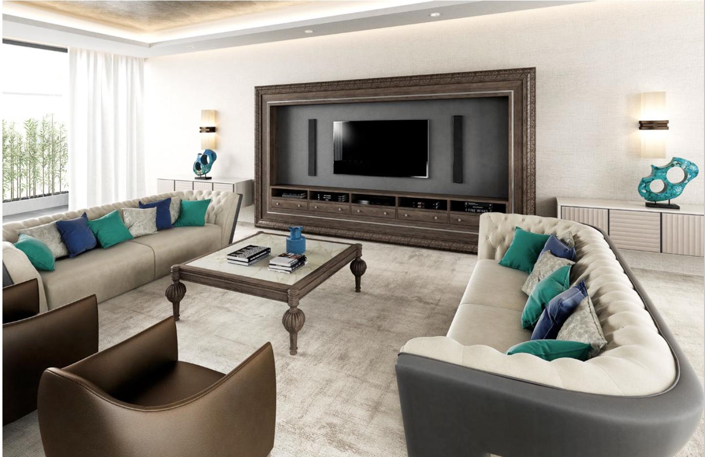 salon comedor -Cityliving-David-Long-Designs