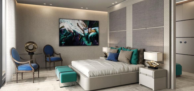 Dormitorio david long interiorismo y muebles de lujo - Interiorismo dormitorios ...