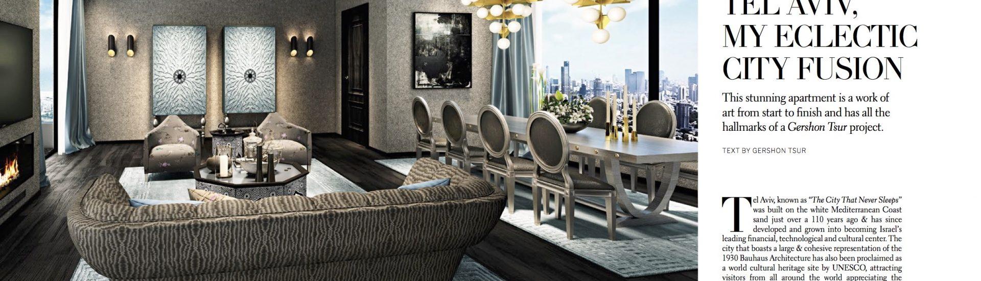 CITY_LIVING_Magazine - Gershon Tsur - Telaviv, my eclectic city fusion