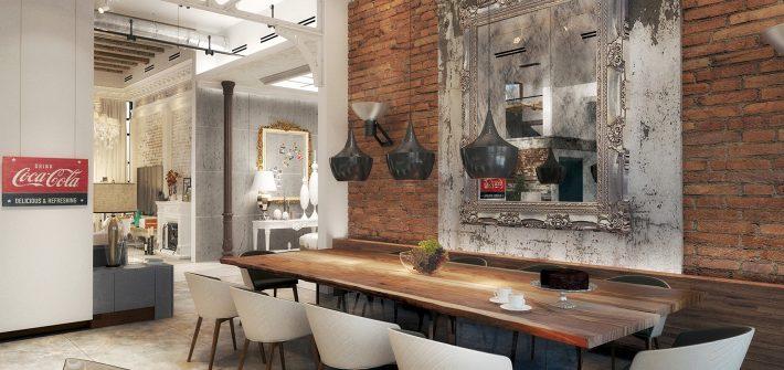 Carrillo-LOFT IN RIYADH KITCHEN DINING - Comedor